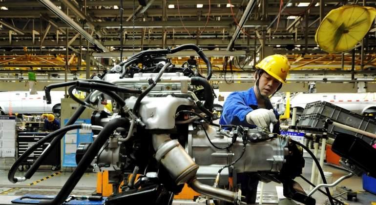 Industria manufacturera crece en primer mes del año