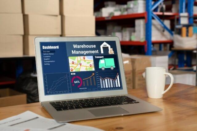 Almacenamiento de productos con software