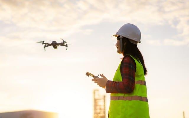 drones para entrega de mercancías